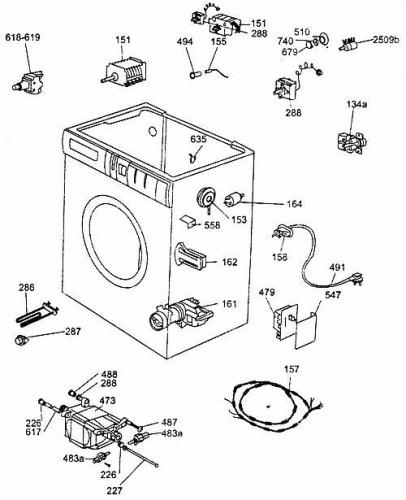стиральной машины ZX 1047