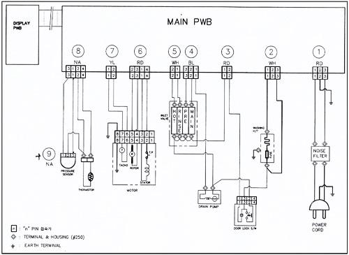 Монтажная схема модуля